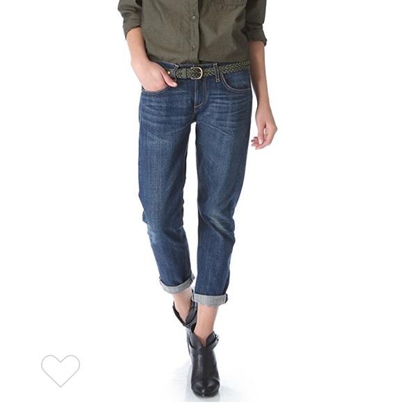 Rag &Bone Selvedge Boyfriend Jeans Size 26